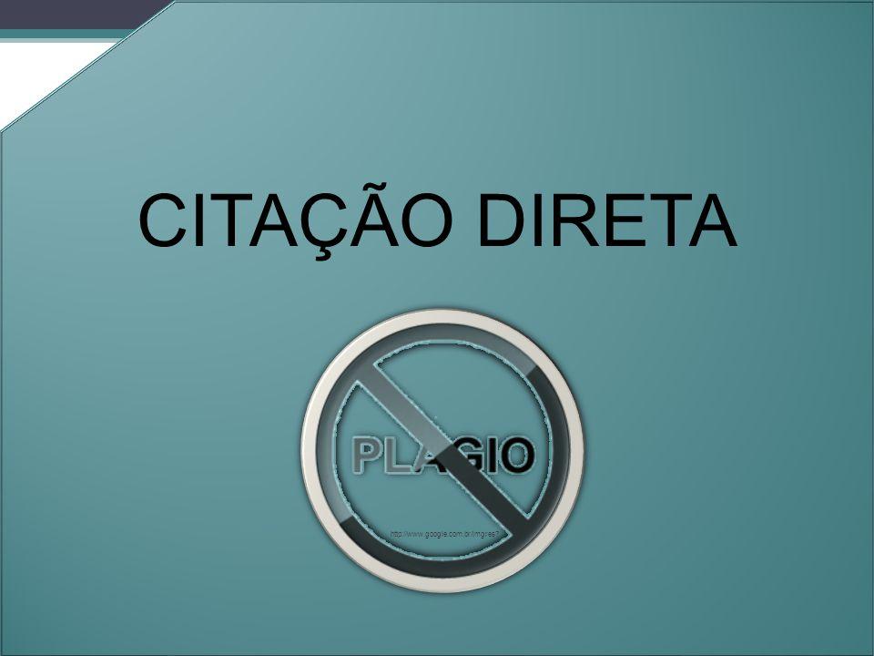 CITAÇÃO DIRETA Orleans - 2011. http://www.google.com.br/imgres
