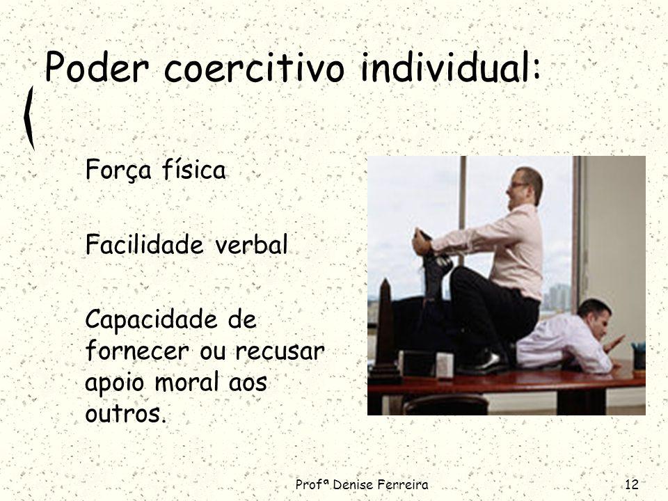 Poder coercitivo individual: