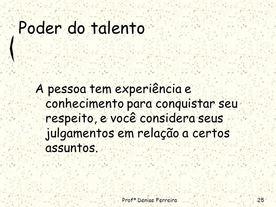 Poder do talento