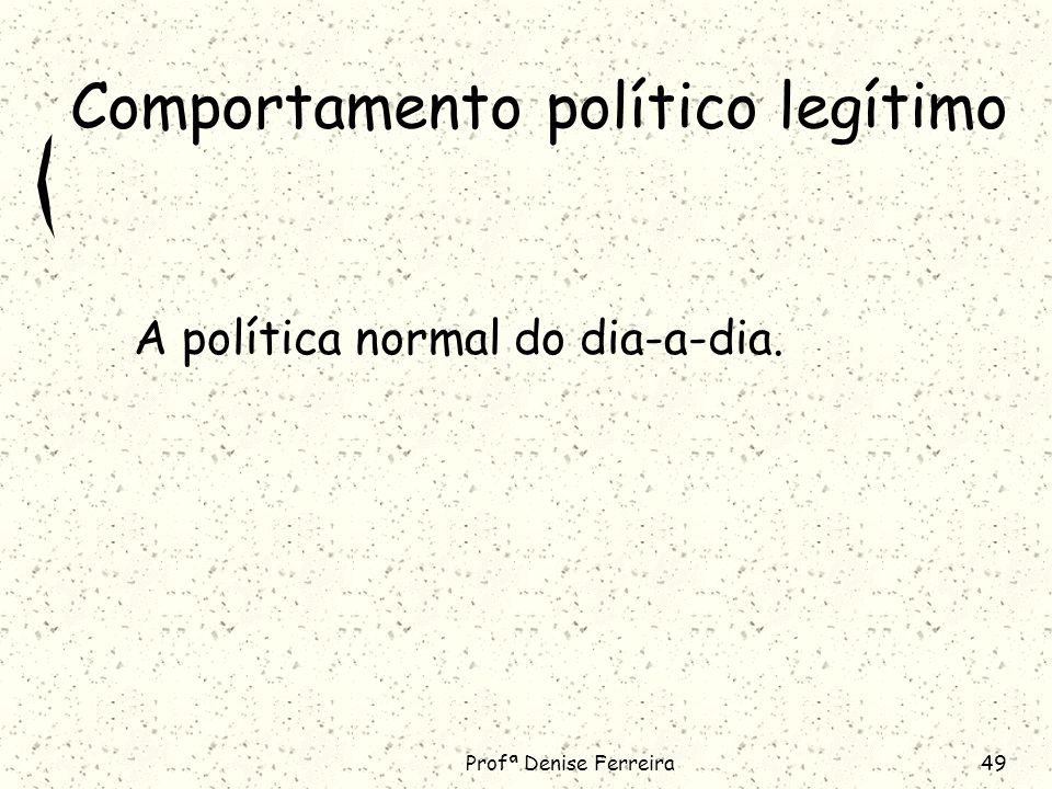 Comportamento político legítimo