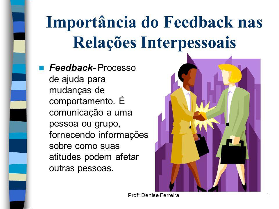 Importância do Feedback nas Relações Interpessoais