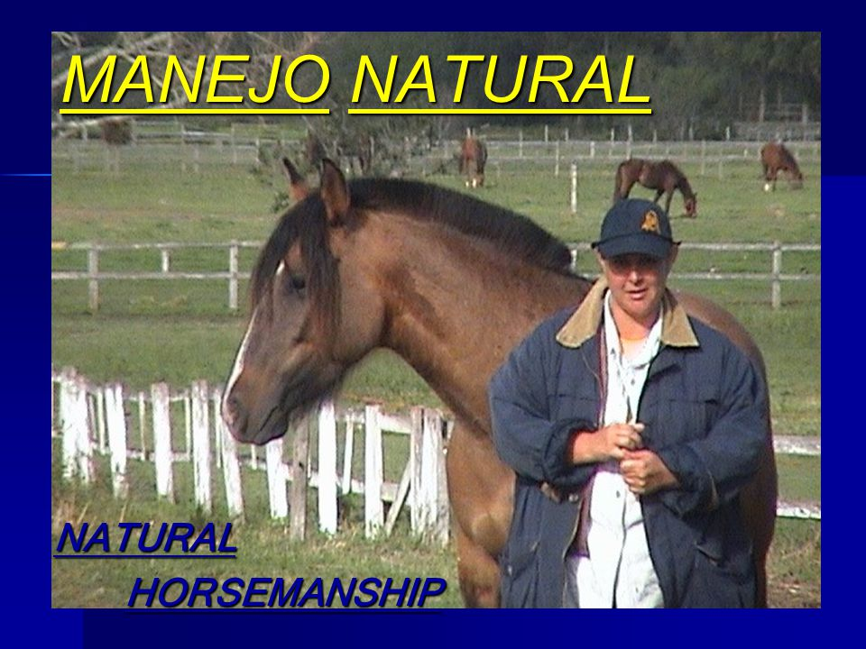MANEJO NATURAL NATURAL HORSEMANSHIP