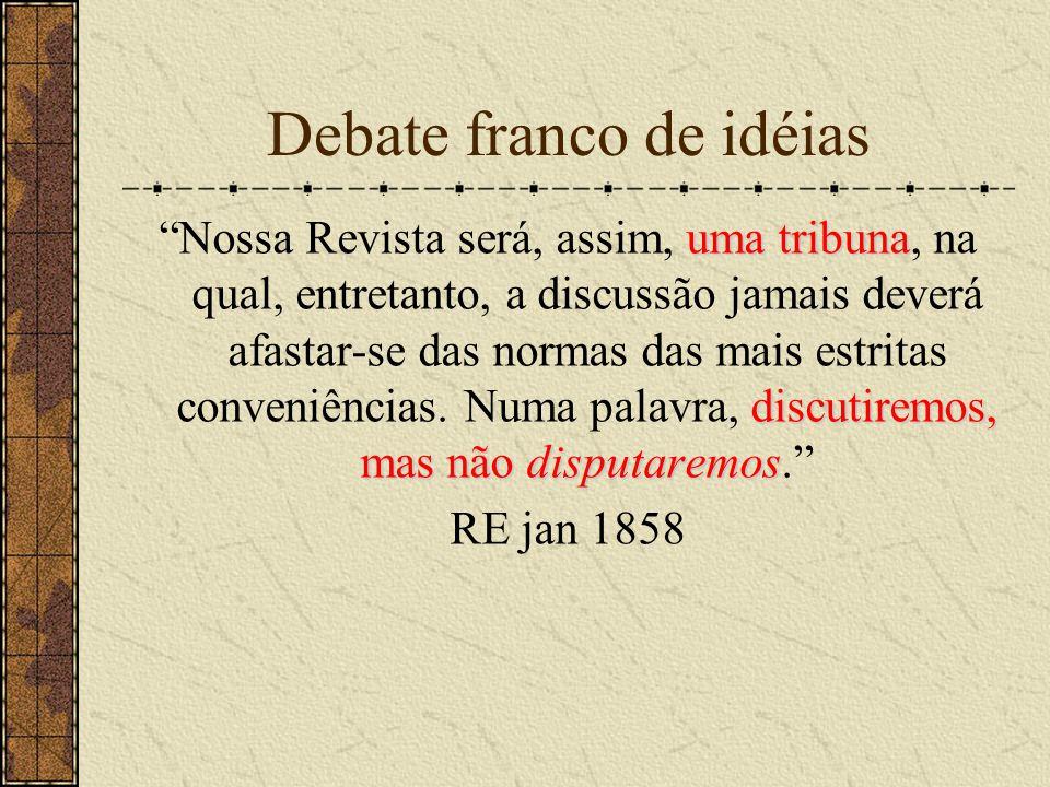 Debate franco de idéias