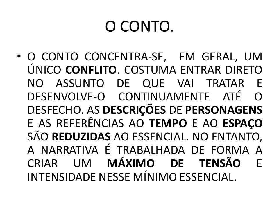 O CONTO.
