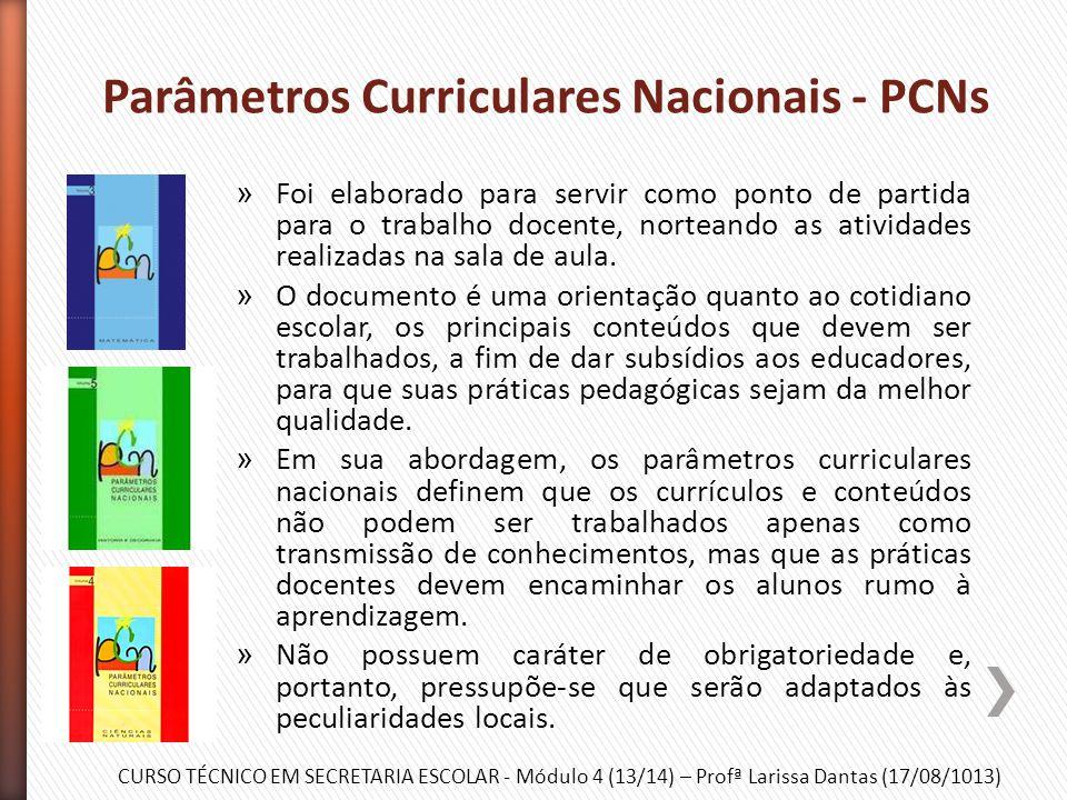 Parâmetros Curriculares Nacionais - PCNs