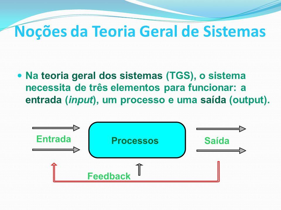 Noções da Teoria Geral de Sistemas