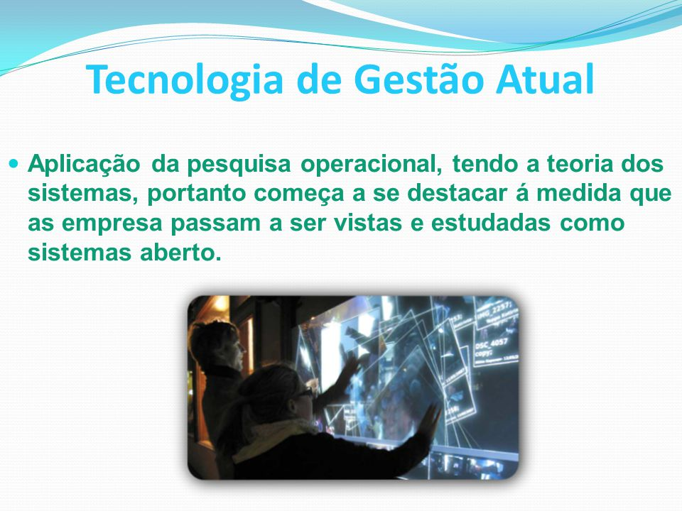 Tecnologia de Gestão Atual