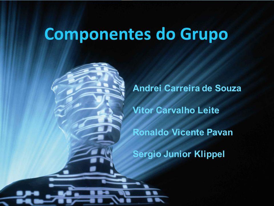 Componentes do Grupo Andrei Carreira de Souza Vitor Carvalho Leite