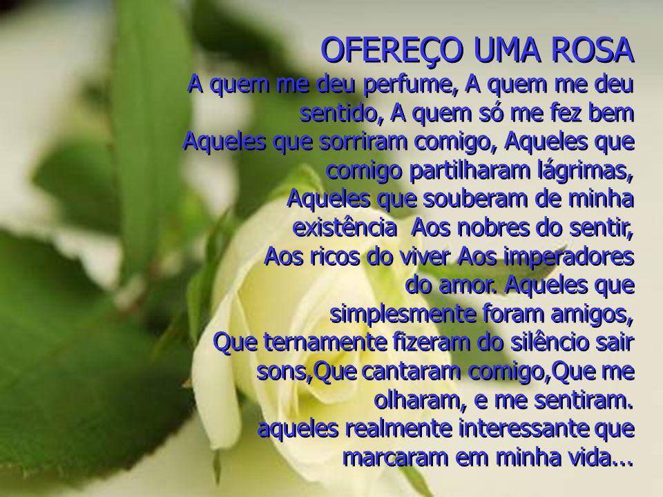 OFEREÇO UMA ROSA