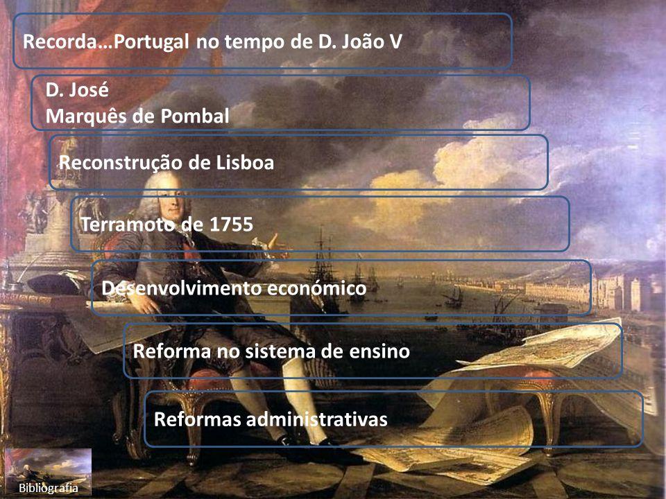 Recorda…Portugal no tempo de D. João V