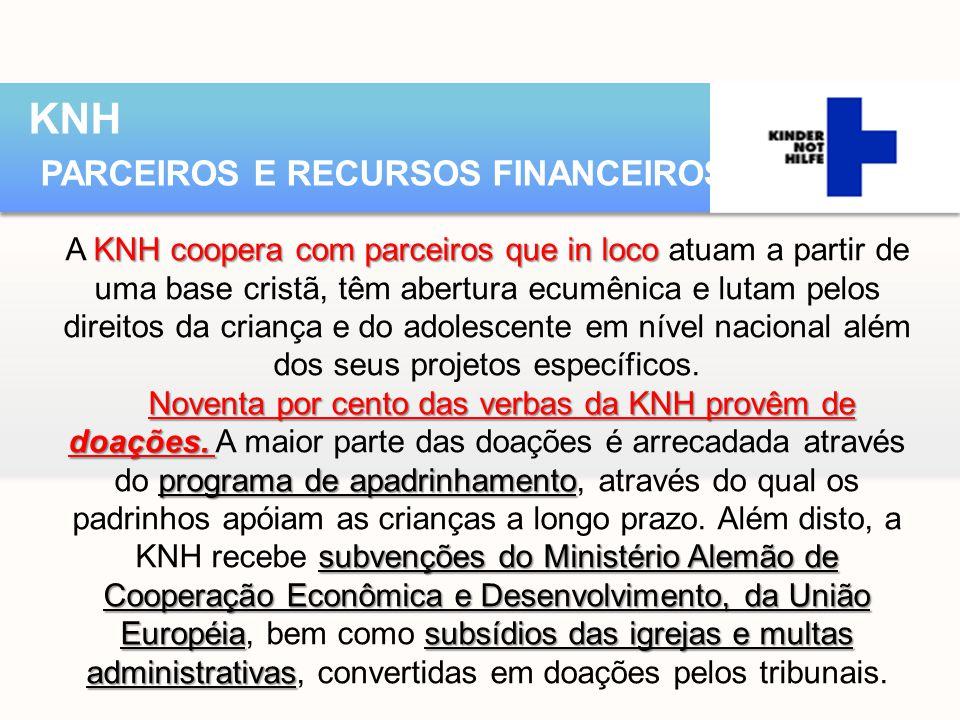 KNH PARCEIROS E RECURSOS FINANCEIROS