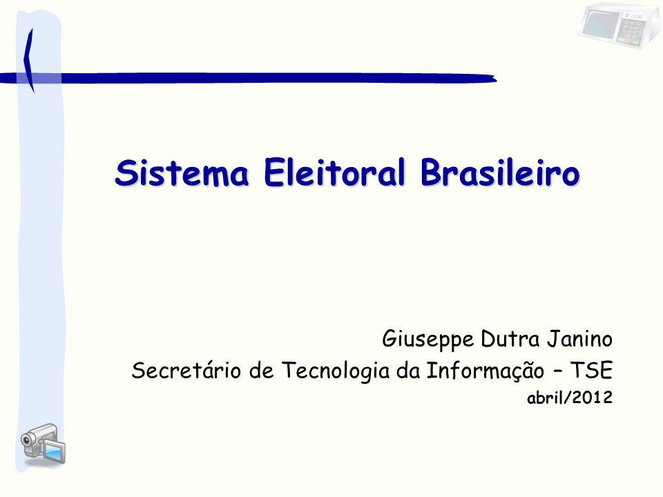 Sistema Eleitoral Brasileiro