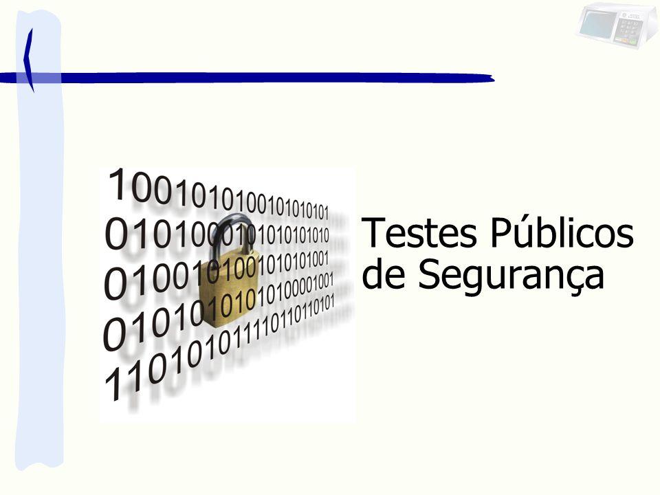 Testes Públicos de Segurança