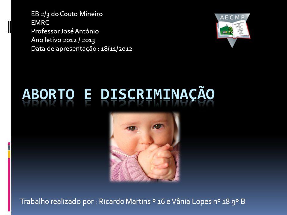 Aborto e Discriminação
