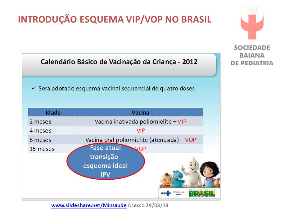 INTRODUÇÃO ESQUEMA VIP/VOP NO BRASIL