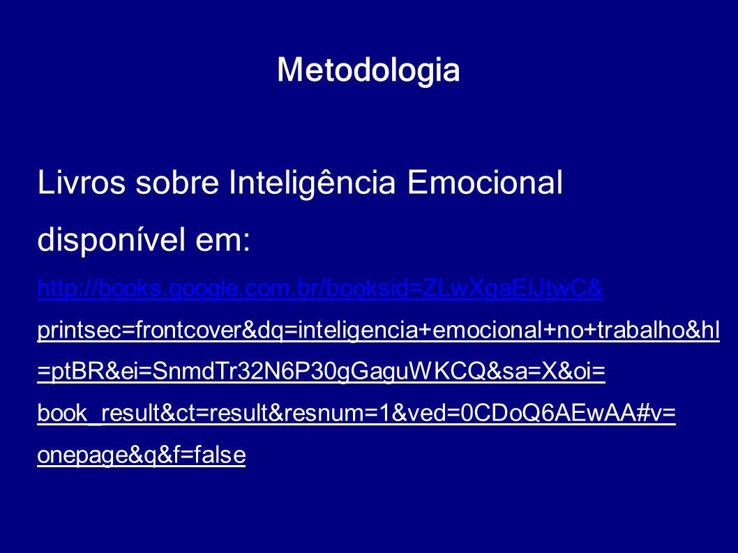 Livros sobre Inteligência Emocional disponível em: