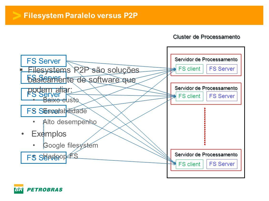 Filesystem Paralelo versus P2P