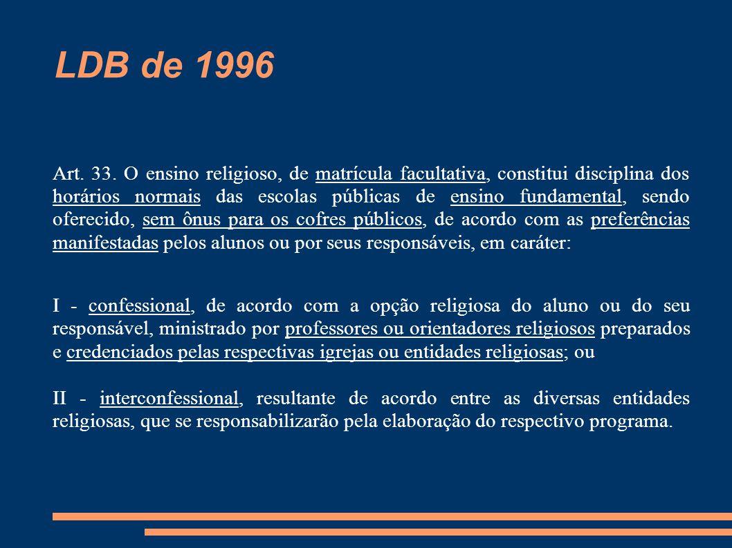 LDB de 1996