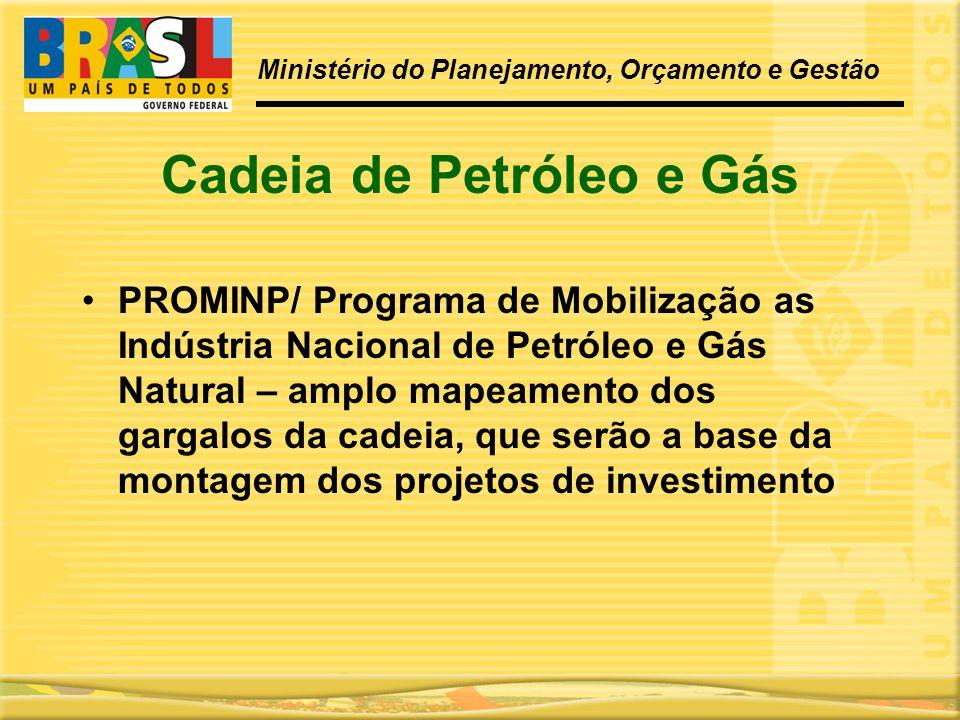 Cadeia de Petróleo e Gás
