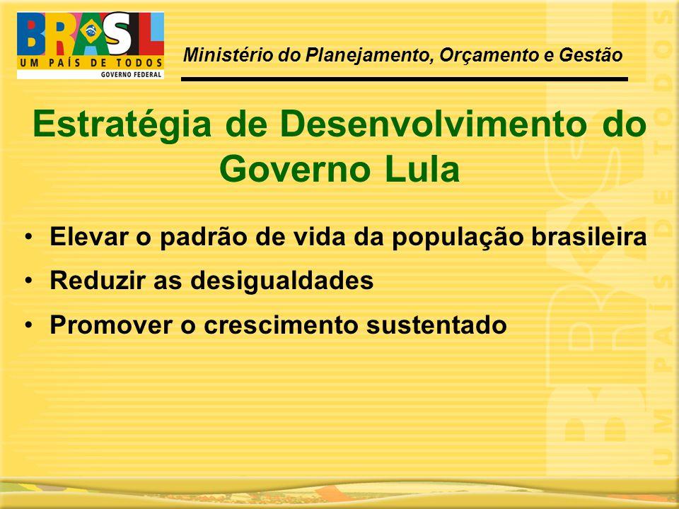 Estratégia de Desenvolvimento do Governo Lula