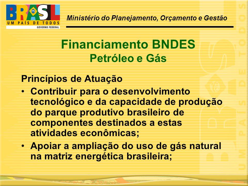 Financiamento BNDES Petróleo e Gás