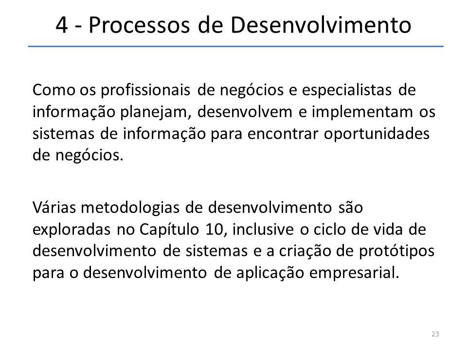 4 - Processos de Desenvolvimento