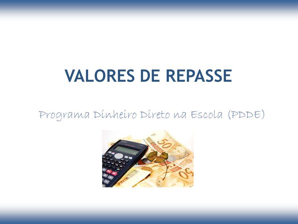 VALORES DE REPASSE 24