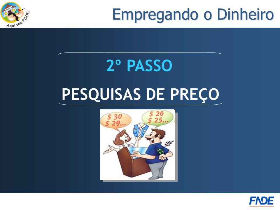 2º PASSO PESQUISAS DE PREÇO