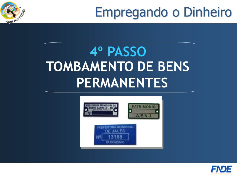 TOMBAMENTO DE BENS PERMANENTES