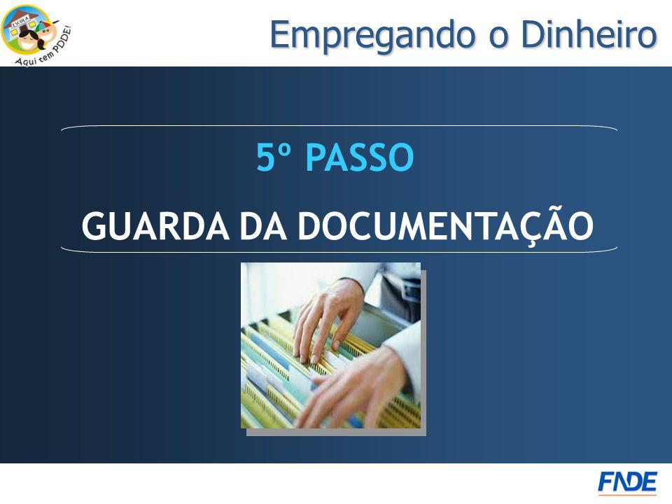 GUARDA DA DOCUMENTAÇÃO