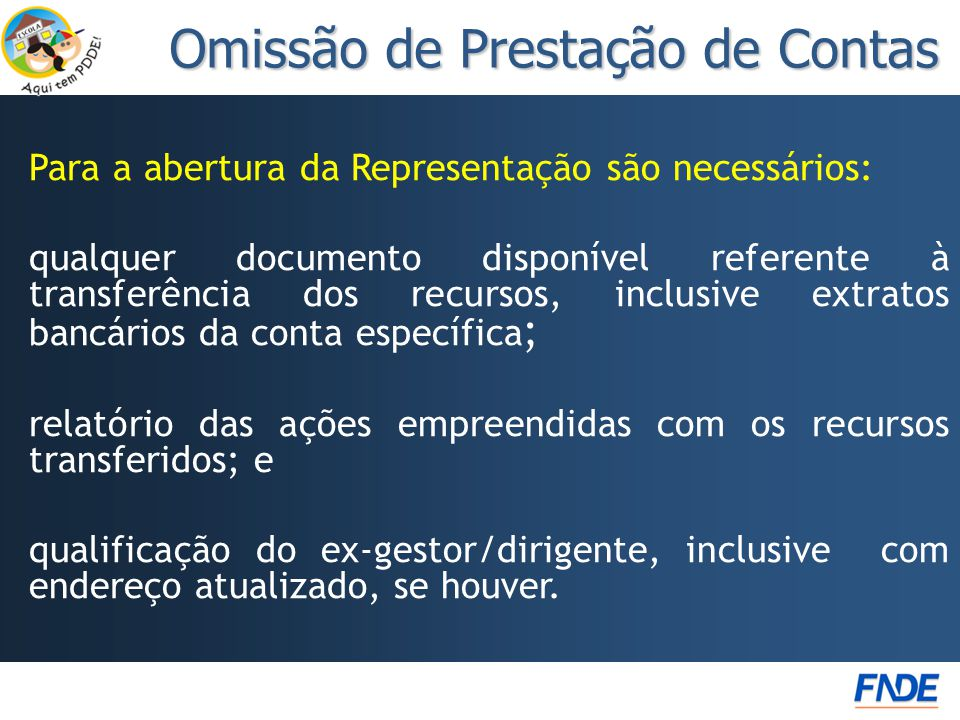 Omissão de Prestação de Contas