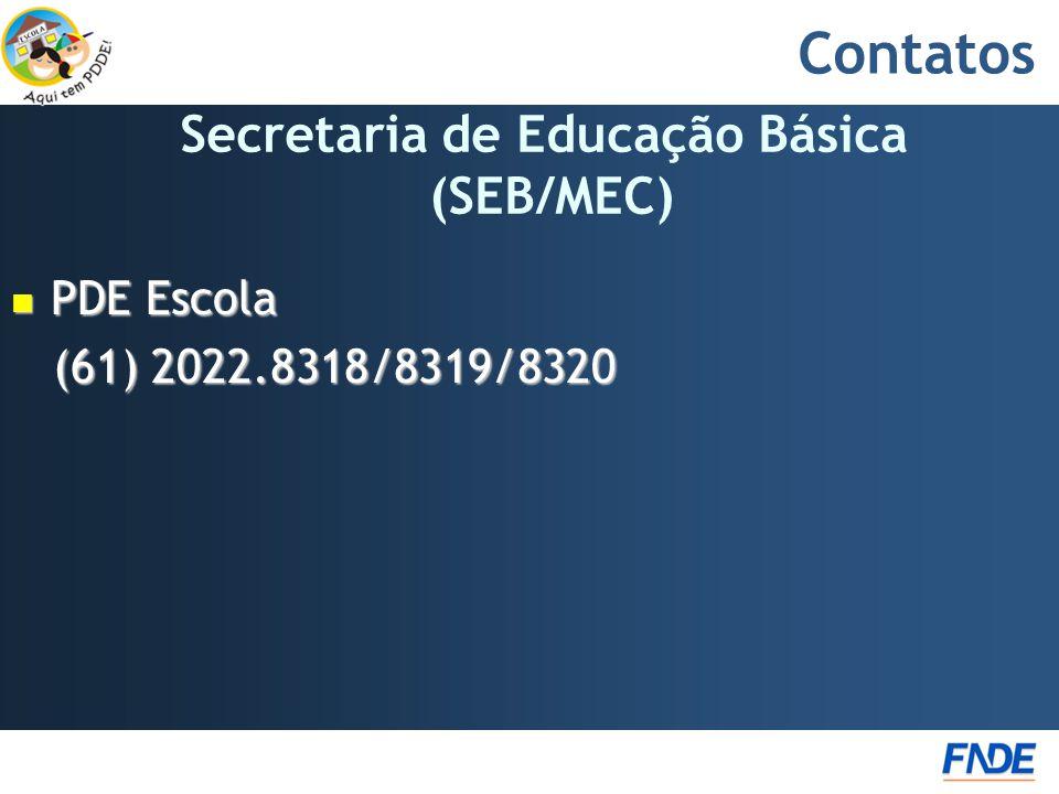 Secretaria de Educação Básica (SEB/MEC)