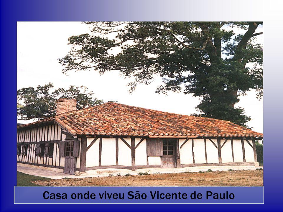 Casa onde viveu São Vicente de Paulo