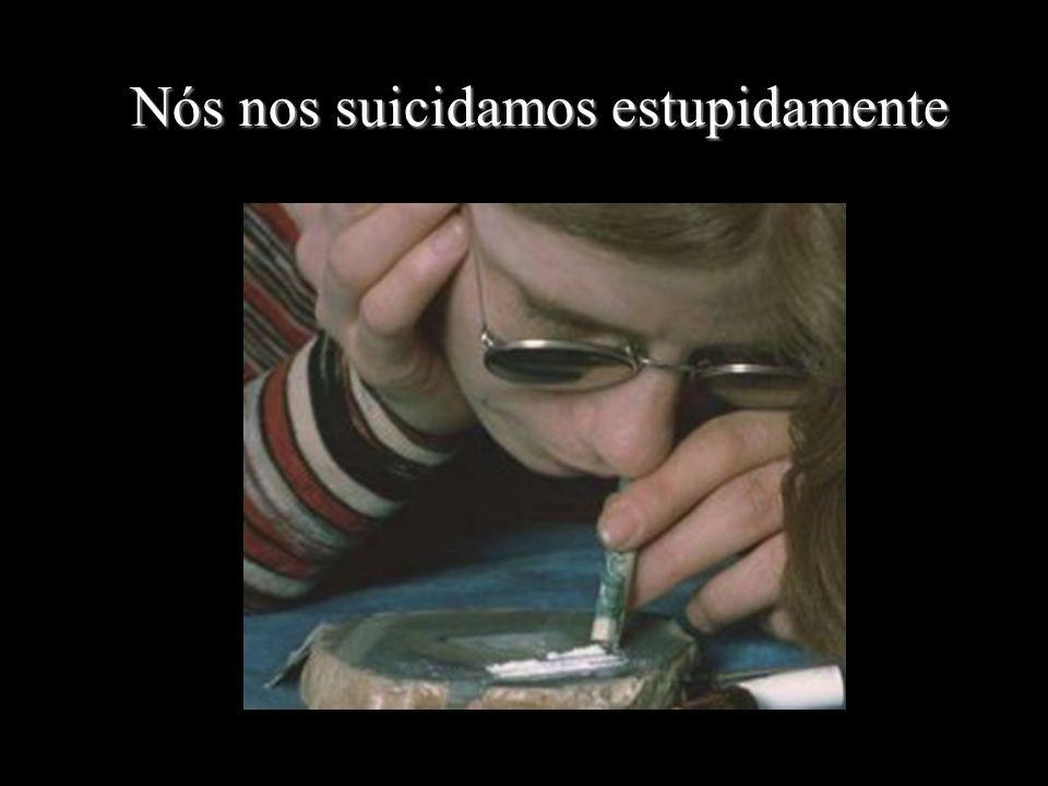 Nós nos suicidamos estupidamente