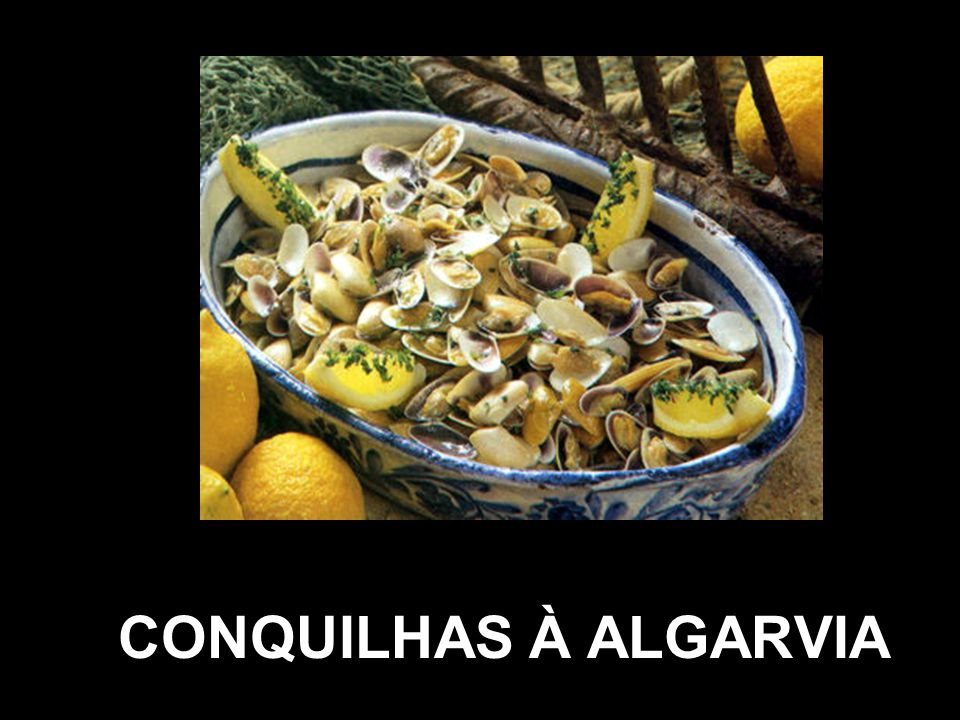 CONQUILHAS À ALGARVIA