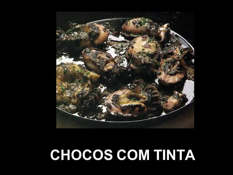 CHOCOS COM TINTA