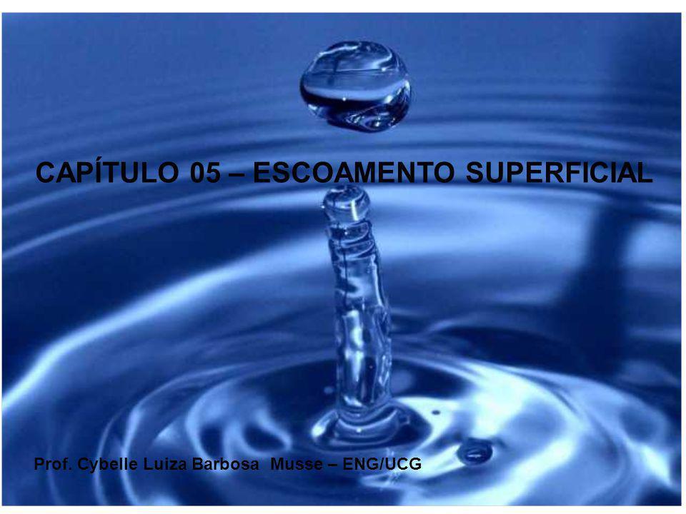 CAPÍTULO 05 – ESCOAMENTO SUPERFICIAL