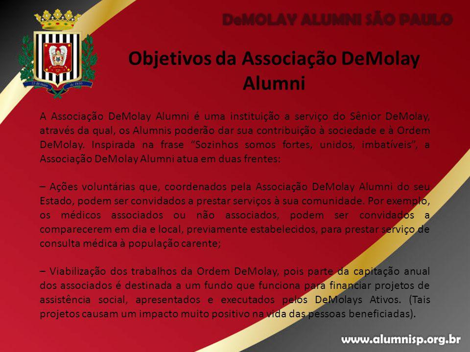 Objetivos da Associação DeMolay Alumni