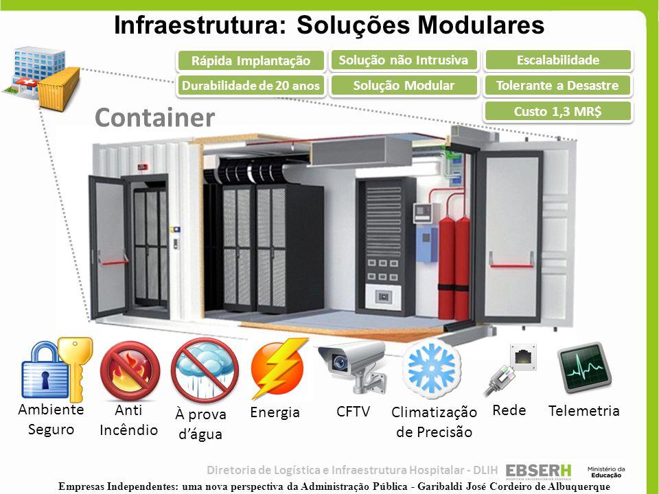 Infraestrutura: Soluções Modulares