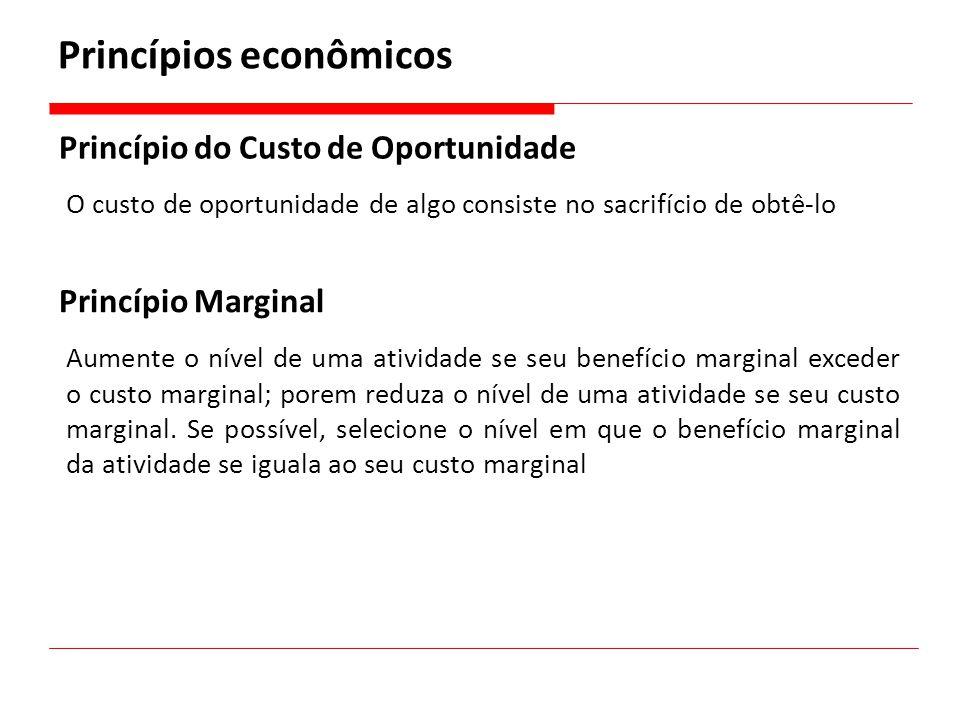 Princípios econômicos