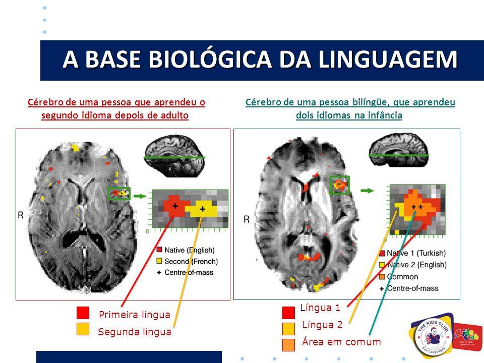 A BASE BIOLÓGICA DA LINGUAGEM
