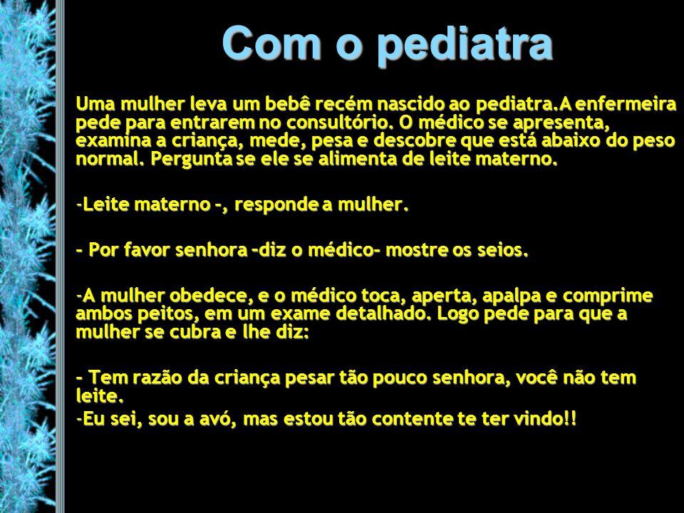 Com o pediatra