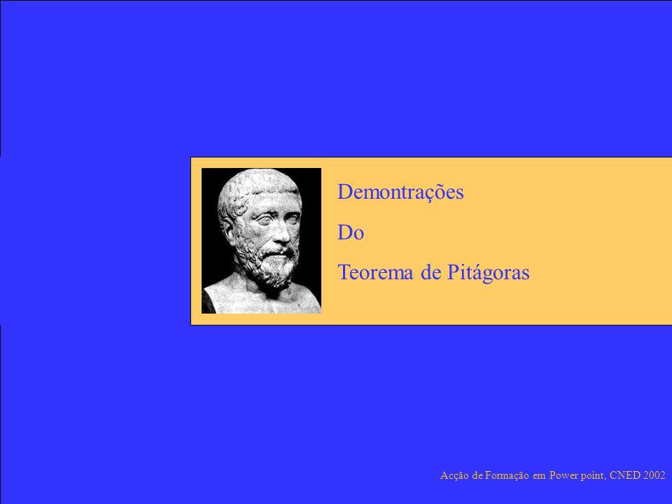 Demontrações Do Teorema de Pitágoras