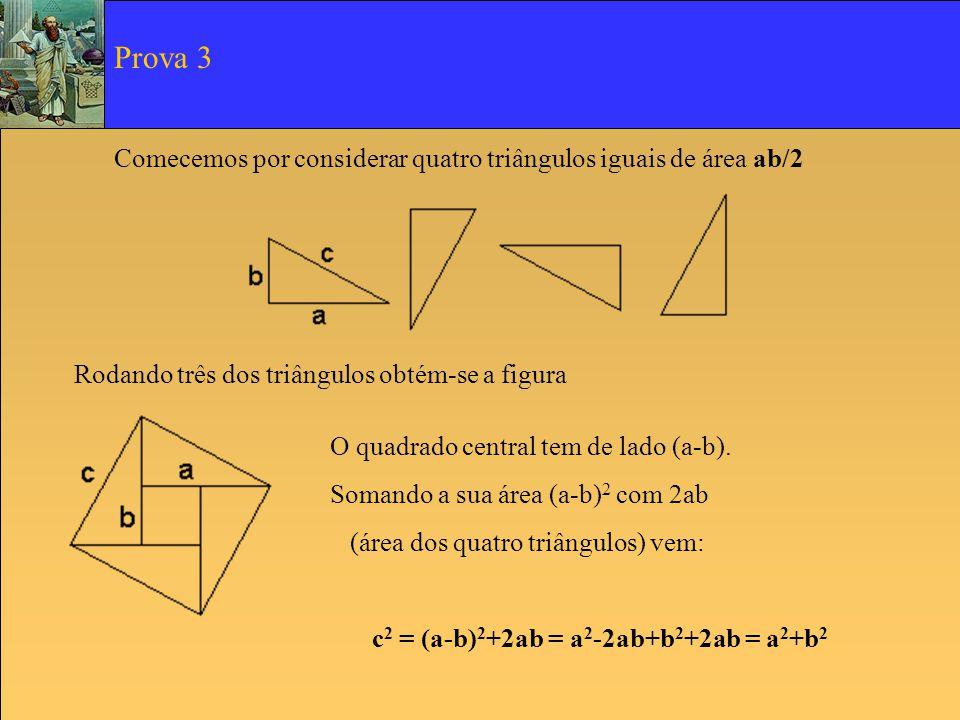 c2 = (a-b)2+2ab = a2-2ab+b2+2ab = a2+b2