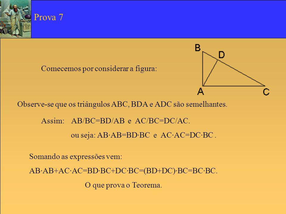 Prova 7 Comecemos por considerar a figura:
