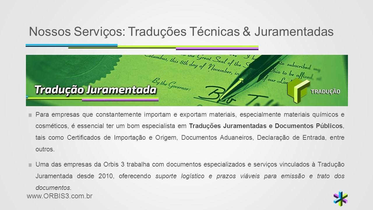 Nossos Serviços: Traduções Técnicas & Juramentadas