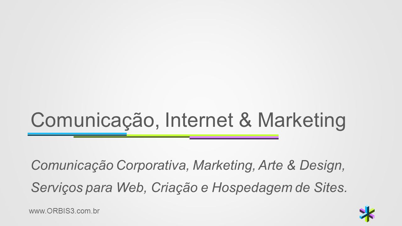 Comunicação, Internet & Marketing