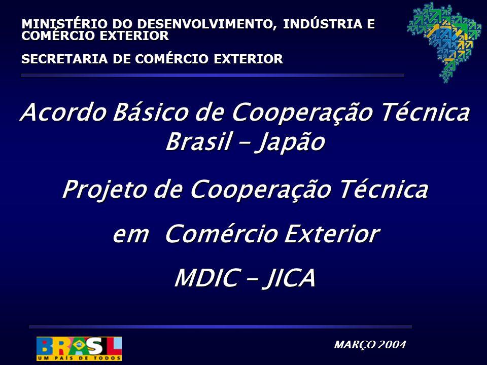 Acordo Básico de Cooperação Técnica Brasil - Japão