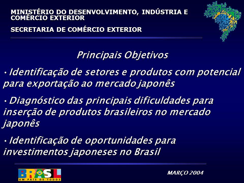 Identificação de oportunidades para investimentos japoneses no Brasil