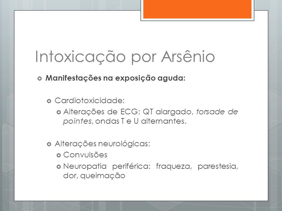 Intoxicação por Arsênio